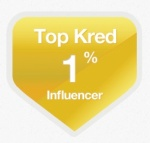 Kred blog badge